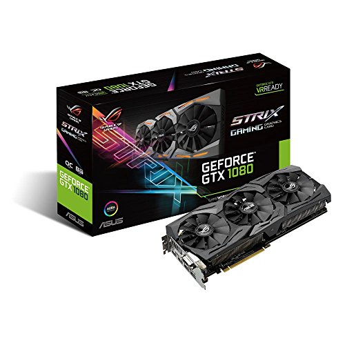 ASUS GeForce GTX 1080 8GB ROG STRIX Graphics Card STRIX-GTX1080-8G-GAMING