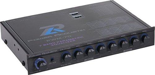 Power Acoustik PWM-70 7-Band Parametric Equalizer