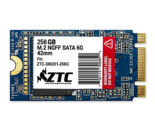 ZTC 256GB Armor 42mm M.2 NGFF 6G SSD Solid State Drive. Model ZTC-SM201-256G