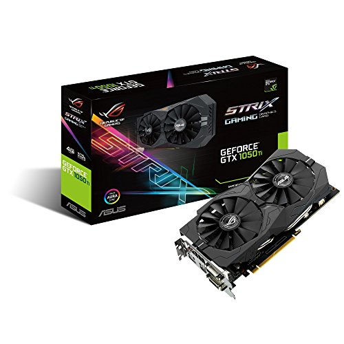 ASUS Geforce GTX 1050 Ti 4GB ROG STRIX HDMI 2.0 DP 1.4 Gaming Graphics Card STRIX-GTX1050TI-4G-GAMING Graphic Cards