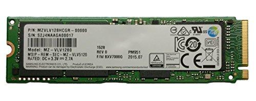Samsung PM951 128GB M.2 NGFF PCIe Gen3 x4, NVME Solid state drive SSD, OEM 2280  MZVLV128HCGR-00000