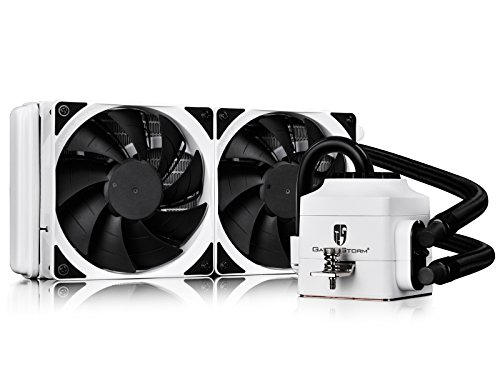 DEEPCOOL CAPTAIN 240 Extreme Performance AIO Liquid CPU CoolerAM4 Available, White