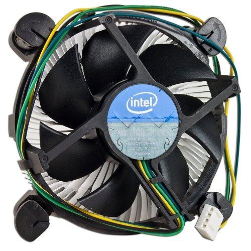 Intel Core i3/i5/i7 Socket 1150/1155/1156 4-Pin Connector CPU Cooler With Aluminum Heatsink & 3.5″ Fan For Desktop PC Computer