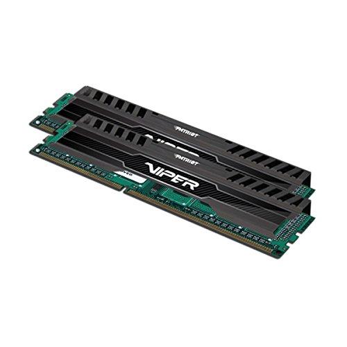 Patriot PV316G160C0K 16GB2x8GB Viper III DDR3 1600MHz PC3 12800 CL10 Desktop Memory With Black Mamba Heatsink
