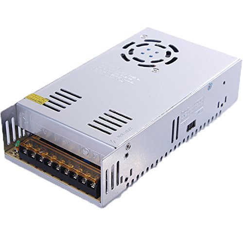 NEWSTYLE 24V 15A Dc Universal Regulated Switching Power Supply 360W for CCTV, Radio, Computer Project