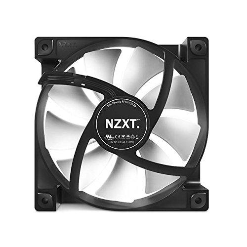 NZXT FN V2 120mm Performance Case Fan Cooling RF-FN122-RB