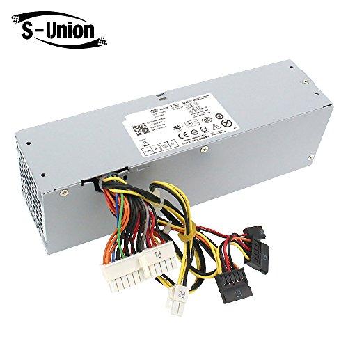 S-Union 240W Power Supply Unit PSU for Dell OptiPlex 390 790 960 990 3010 7010 9010 D04S SFF H240ES-00 D240ES-00 AC240AS-00 AC240ES-00 DPS-240WB L240AS-00 H240AS-00 3WN11 PH3C2 2TXYM 709MT J50TW