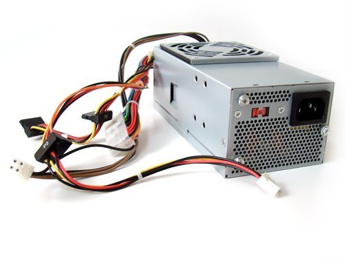 Dell 250W Power Supply for Dell Inspiron 530s, Inspiron 531s, Vostro 200 Slim, 200s, 220s, and Studio 540s Small Form Factor Systems