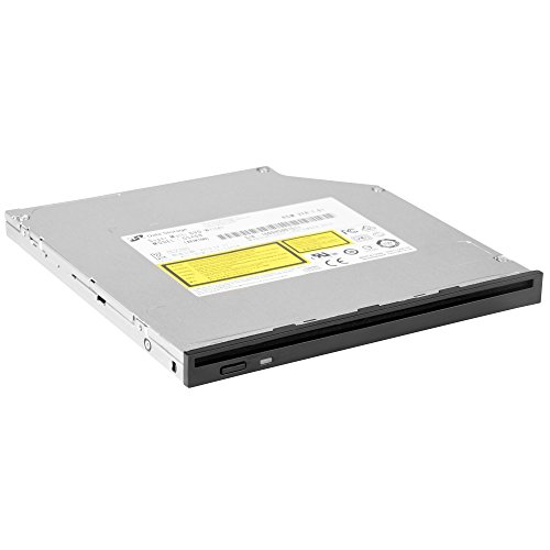 SilverStone Technology Slim 9.5mm Slot Loading DVD-R/W Disk Drive with Physical Eject Button, Includes both 9.5mm and 12.7mm front Bezels SOD04