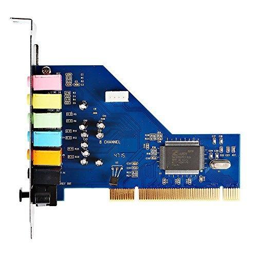 SainSonic PCI 8 Channel 7 1 Sound Card 3D PCI Surround Sound