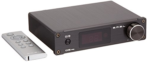 50W USB/Coaxial/Optical with Remote Control – Black – SMSL Q5 Pro Digital Amplifier 2