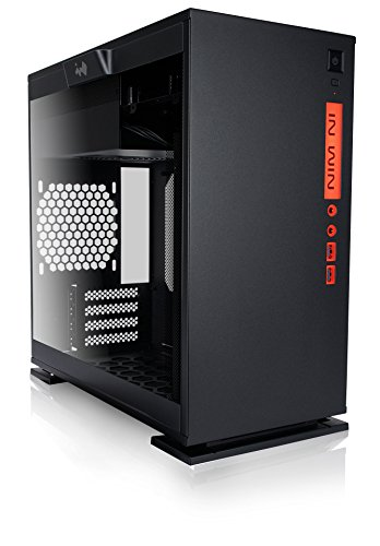 In Win 301 Black Tempered Glass Premium Micro-ATX Mini-ITX Tower Gaming Computer Case