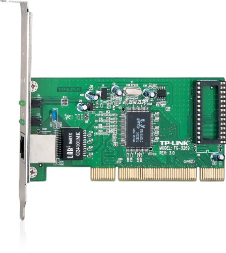 TP-Link 10/100/1000Mbps Gigabit PCI Network Adapter/Card, Includes Low-profile Bracket TG-3269