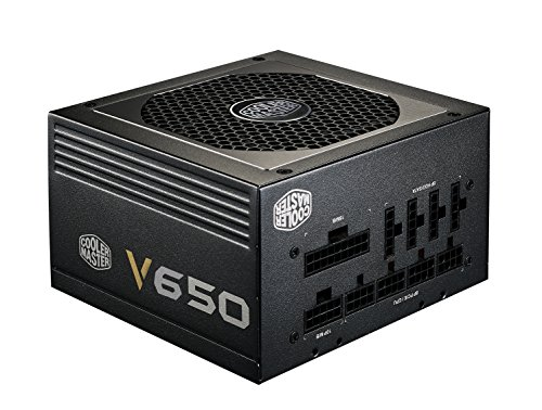 Cooler Master V650 – 650W Compact Fully Modular 80 PLUS Gold Power Supply RS650-AFBAG1-US