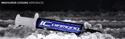 """Innovation Cooling Diamond """"7 Carat"""" Thermal Compound – 1.5 Grams"""