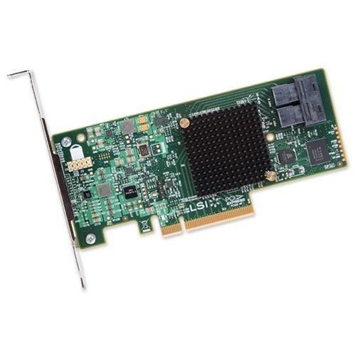 LSI Logic Controller Card H5-25573-00 9300-8i SGL SAS 8Port 12Gb/s PCIE3.0 HBA Brown Box