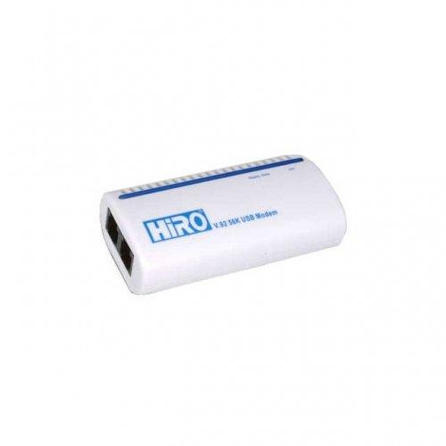 HIRO H50113,63B56021004 / HiRO V.92 56K Lucent Chipset USB Modem XP 64bit Vista ready RoHS