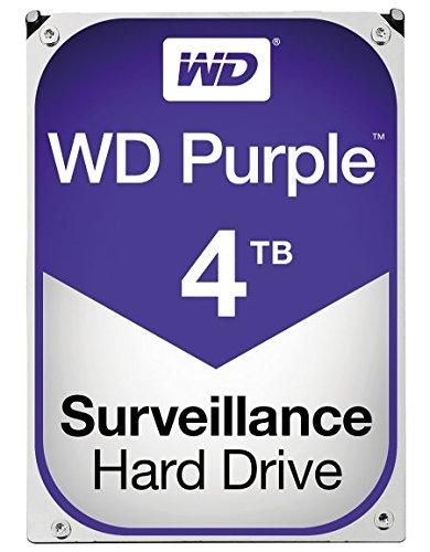 5400 RPM Class SATA 6 Gb/s 64MB Cache 3.5 Inch – WD40PURZ – WD Purple 4TB Surveillance Hard Disk Drive