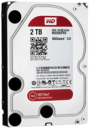5400 RPM Class SATA 6 Gb/s 64MB Cache 3.5 Inch – WD20EFRX – WD Red 2TB NAS Hard Disk Drive