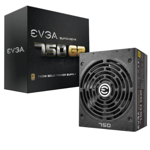 EVGA SuperNOVA 750 G2, 80+ GOLD 750W, Fully Modular, EVGA ECO Mode, 10 Year Warranty, Includes FREE Power On Self Tester Power Supply 220-G2-0750-XR