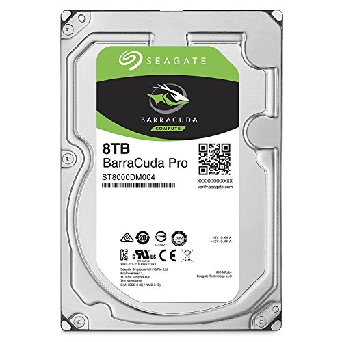 Seagate 8TB Desktop HDD SATA 6Gb/s 256MB Cache 7200 RPM 3.5″ Internal Bare Drive – ST8000DM004