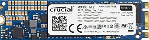 CT1050MX300SSD4 – Crucial MX300 1TB M.2 2280 Internal Solid State Drive