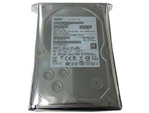 HGST Ultrastar 7K4000 0F17731 3TB 64MB Cache 7200RPM SATA III 6.0Gb/s 3.5″ Heaty-Duty Internal Hard Drive for CCTV DVR, NAS, PC/MAC Certified Refurbished