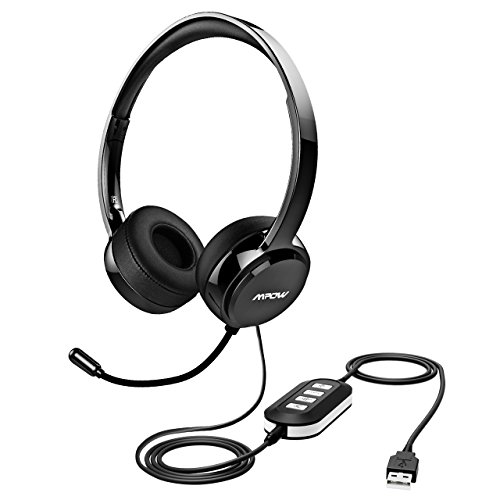 Mpow Usb Headset 3 5mm Computer Headset With Microphone Noise