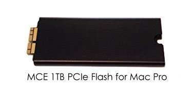 1TB PCIe-Based 4 Lane x4 SSD Flash Drive Upgrade for Mac Pro Late 2013