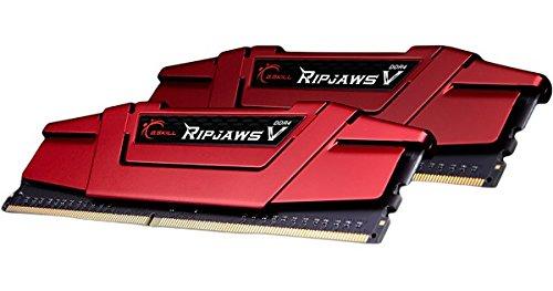 G.SKILL 16GB 2 x 8GB Ripjaws V Series DDR4 PC4-25600 3200MHz Intel Z170 Platform Desktop Memory F4-3200C16D-16GVRB