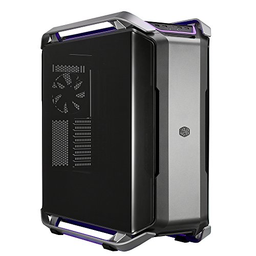 Cooler Master Cosmos C700P E-ATX Full-Tower with Dual-CURVED Tempered Glass Side Panel Flexible Interior and RGB Lighting Cases MCC-C700P-MG5N-S00