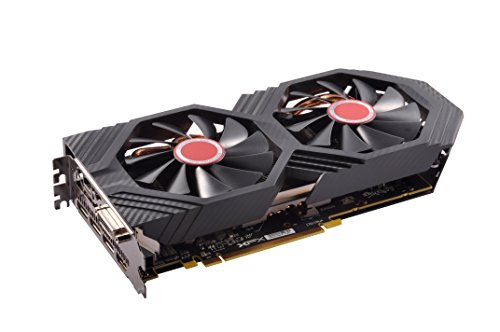 XFX GTS XXX Edition RX 580 4GB OC+ 1386Mhz DDR5 W/Backplate 3xDP HDMI DVI Graphic Cards RX-580P4DFD6