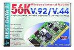 Best Data Internal Modem 56HP 56HP