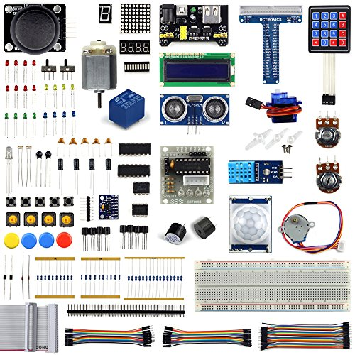 UCTRONICS Ultimate Starter Learning Kit for Raspberry Pi 3 w
