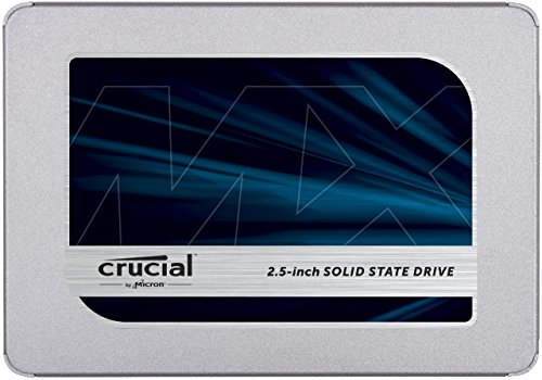 Crucial MX500 1TB 3D NAND SATA 2.5 Inch Internal, Frustration-Free Packaging-  SSD – CT1000MX500SSD1Z