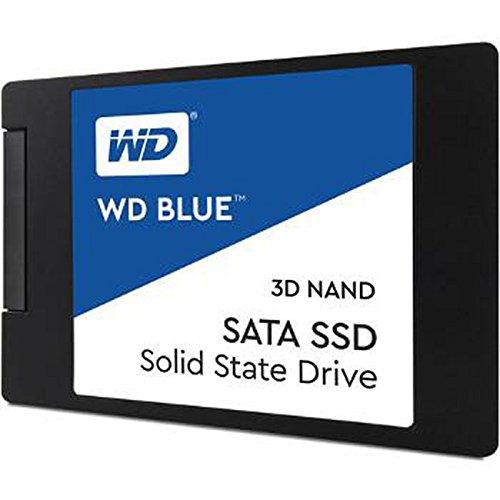 WDS500G2B0A – SATA III 6 Gb/s 2.5″/7mm Solid State Drive – WD Blue 3D NAND 500GB PC SSD