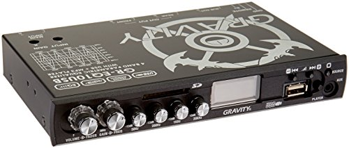 GRAVITY 4 Band Parametric Equalizer with USB/MP3 Player GR-EQ10USB