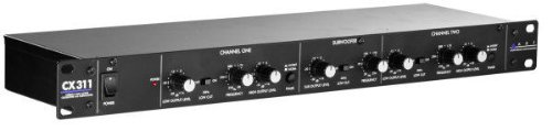 APPLIED RESEARCH TECHNOLOGY CX311 ACTIVE CROSSOVER W/ SUB OUTPUT2WAY STEREO 3WAY MONO