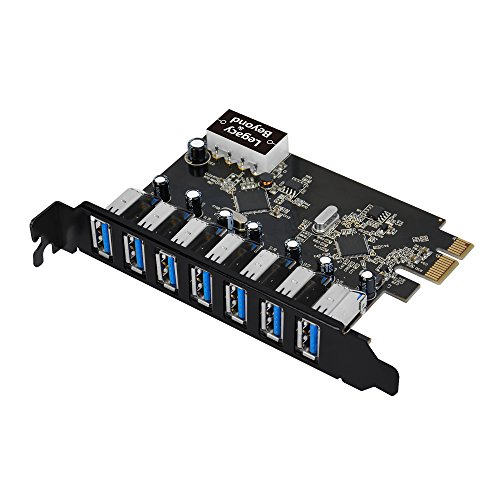 SIIG Legacy and Beyond Series PCIe to USB 3 0 7-Port PCI Express