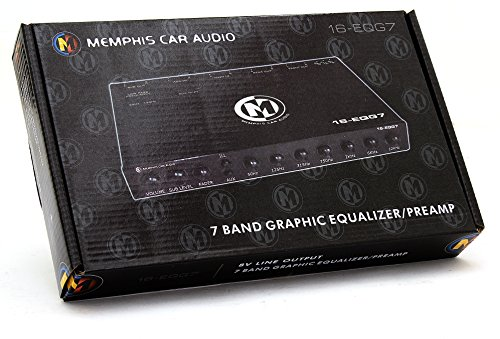16-EQG7 – Memphis 7-Band Graphic Equalizer / Preamp