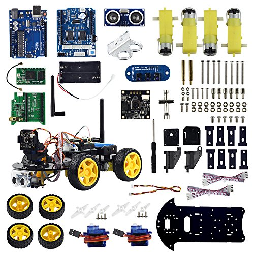 UCTRONICS WIFI Smart Robot Car Kit for Arduino with Real Time Video
