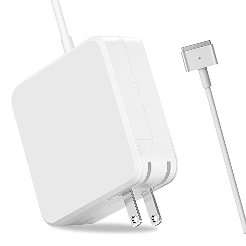 Macbook Air Charger, AC 45W Magnetic Magsafe 2 T-tip Shape Connector Power Adapter for Macbook Air 11 inch and 13-inch 45W M2