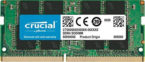 CT8G4SFS8266 – Crucial 8GB Single DDR4 2666 MT/s PC4-21300 SR x8 SODIMM 260-Pin Memory