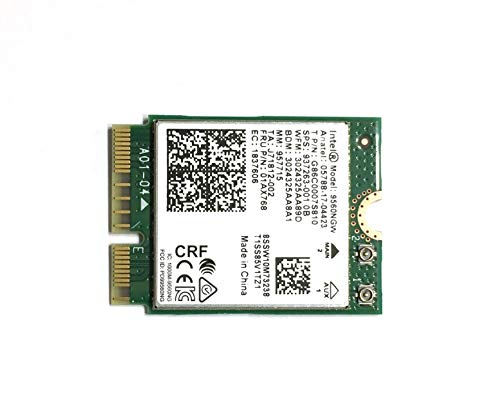 Intel Wireless-AC 9560, M.2 2230, 2X2 Ac+Bt, Gigabit, No Vpro