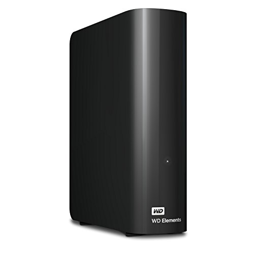 USB 3.0 – WD 10TB Elements Desktop Hard Drive – WDBWLG0100HBK-NESN