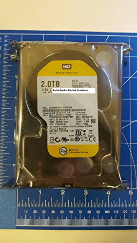 Western Digital HDD WD2000FYYZ Enterprise 2TB SATA 6Gb/s 7200rpm 64MB Cache Bare Drive Drive WD2000FYYZ