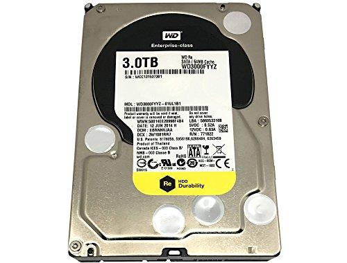 Western Digital RE WD3000FYYZ 3TB 7.2K RPM 64MB Cache 6Gb/s SATA 3.5″ Enterprise HDD