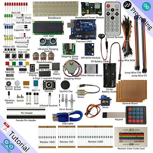 Freenove Ultimate Starter Kit for Arduino | Beginner