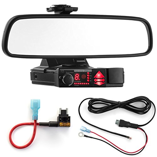 Valentine V1 – Radar Mount Mirror Mount + Direct Wire + Micro Add a Circuit