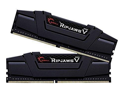 G.Skill 16GB 2 x 8GB Ripjaws V Series DDR4 PC4-25600 3200MHz Desktop Memory Model F4-3200C14D-16GVK